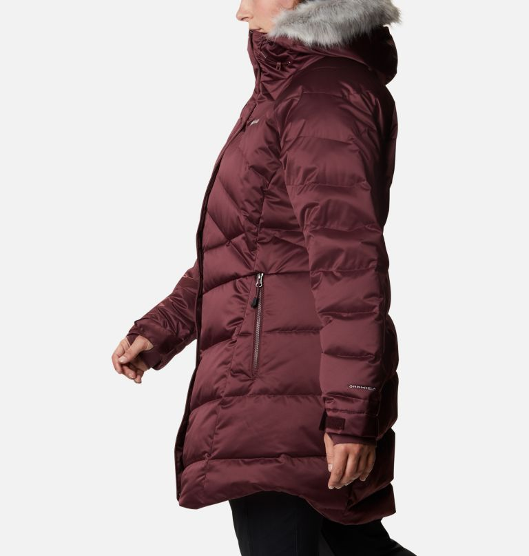 Lay D Down™ II Mid Jacket | 671 | 1X Women's Lay D Down™ II Mid Jacket - Plus Size, Malbec, a1