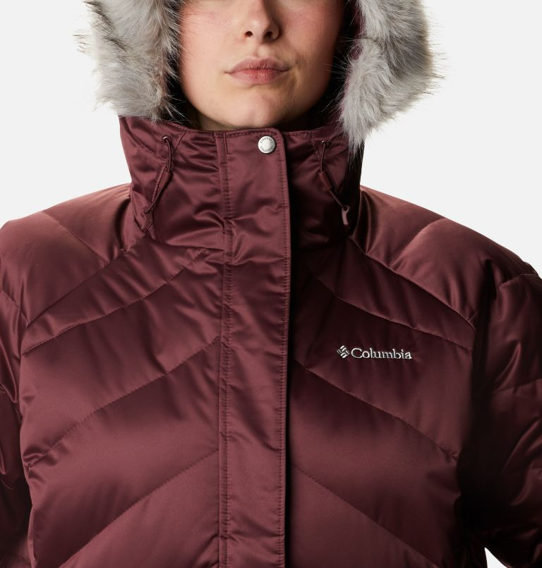 Lay D Down™ II Mid Jacket | 671 | 1X Women's Lay D Down™ II Mid Jacket - Plus Size, Malbec, a2