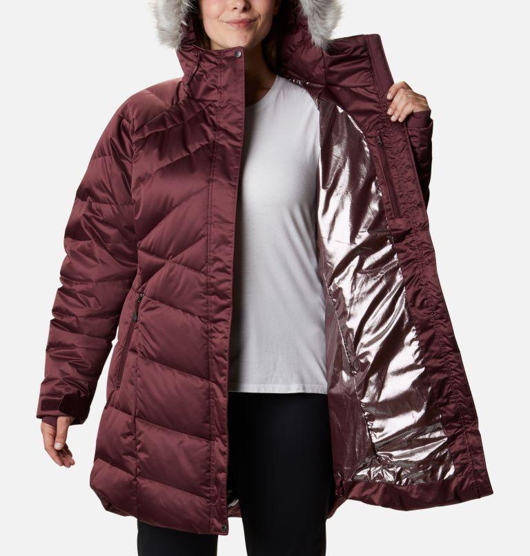 Lay D Down™ II Mid Jacket | 671 | 2X Women's Lay D Down™ II Mid Jacket - Plus Size, Malbec, a3