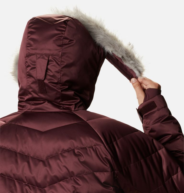 Lay D Down™ II Mid Jacket | 671 | 2X Women's Lay D Down™ II Mid Jacket - Plus Size, Malbec, a4