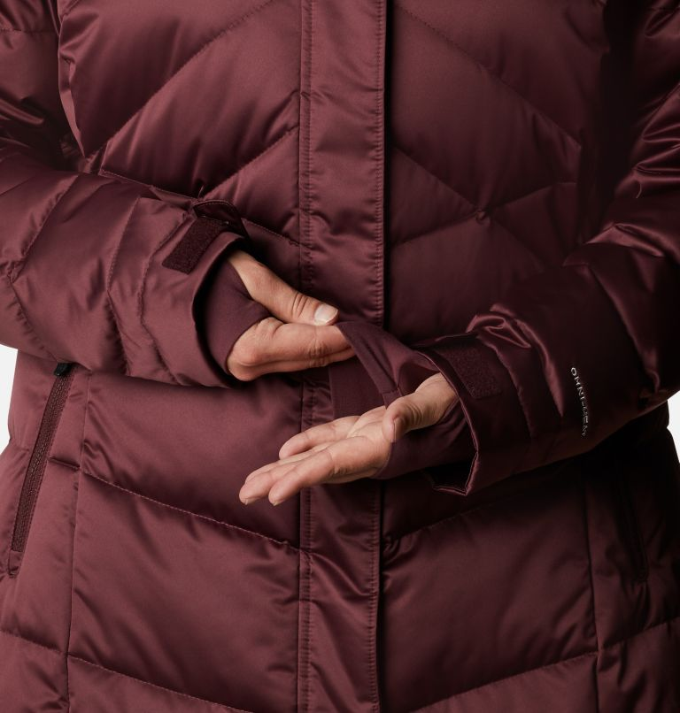 Lay D Down™ II Mid Jacket | 671 | 1X Women's Lay D Down™ II Mid Jacket - Plus Size, Malbec, a5