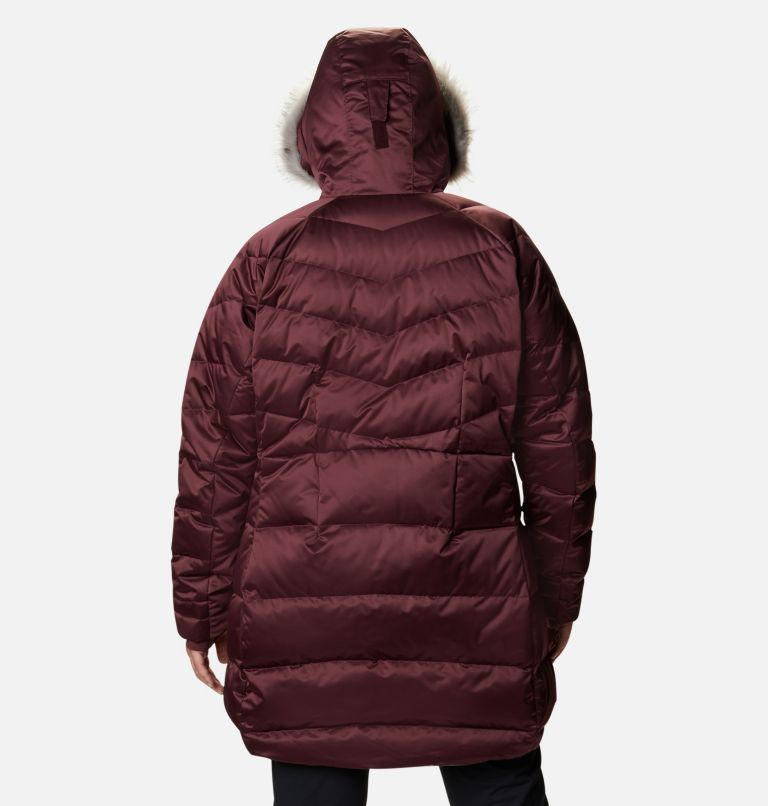 Lay D Down™ II Mid Jacket | 671 | 1X Women's Lay D Down™ II Mid Jacket - Plus Size, Malbec, back