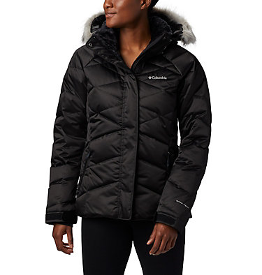 Lay D Down™ II Skijacke für Damen Lay D Down™ II Jacket | 011 | XS, Black, front