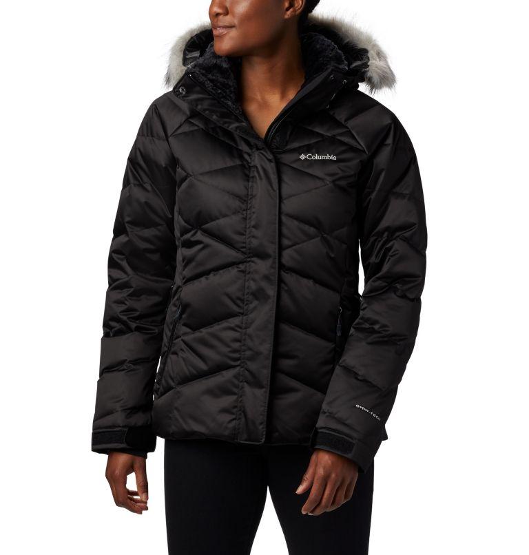 Lay D Down™ II Jacket | 011 | M Women's Lay D Down™ II Ski Jacket, Black, front