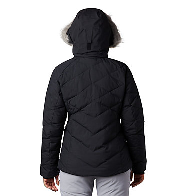 Lay D Down™ II Skijacke für Damen Lay D Down™ II Jacket | 011 | XS, Black Metallic, back