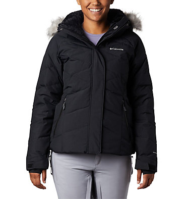 Lay D Down™ II Skijacke für Damen Lay D Down™ II Jacket | 011 | XS, Black Metallic, front