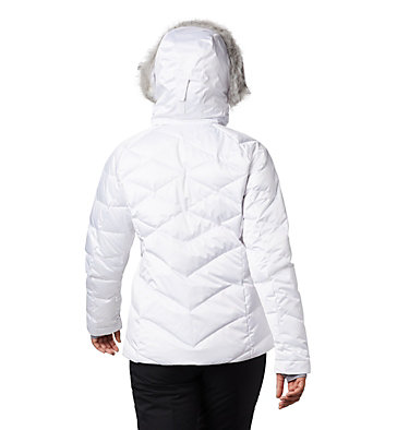 Lay D Down™ II Skijacke für Damen Lay D Down™ II Jacket | 011 | XS, White, back