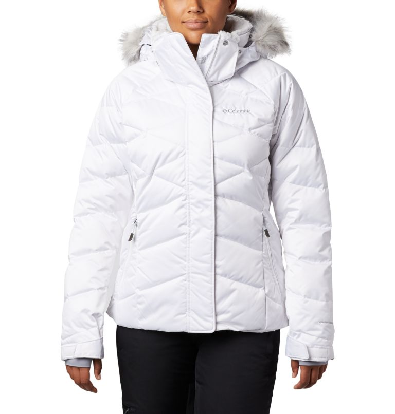 Lay D Down™ II Jacket | 101 | L Women's Lay D Down™ II Ski Jacket, White, front