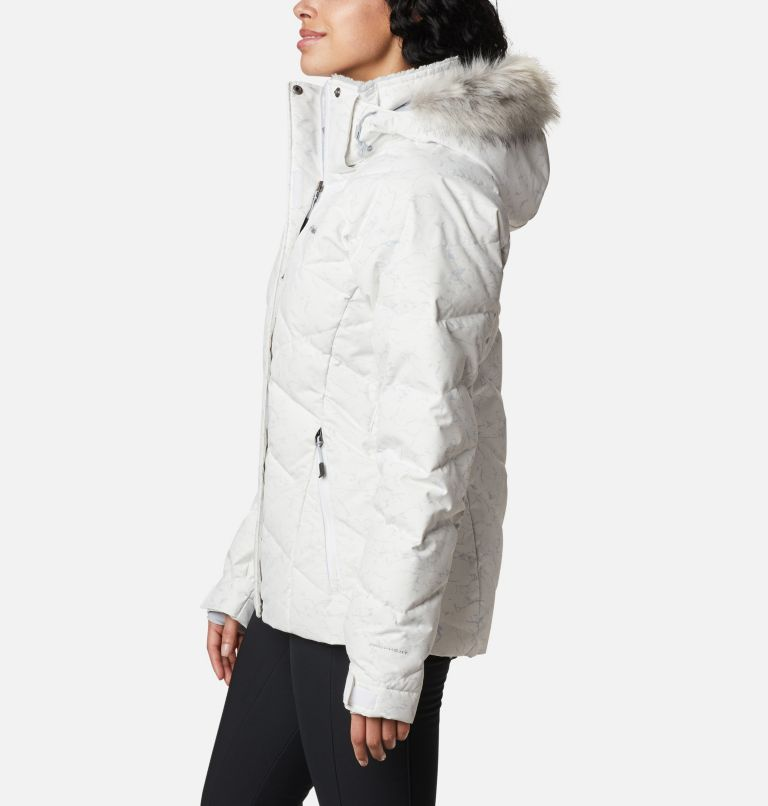 Lay D Down™ II Jacket | 102 | XXL Women's Lay D Down™ II Jacket, White, Cirrus Grey Crackle Print, a1