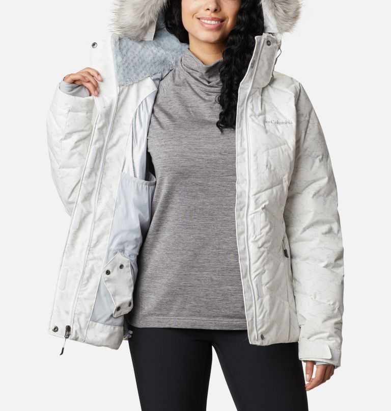 Lay D Down™ II Jacket | 102 | XXL Women's Lay D Down™ II Jacket, White, Cirrus Grey Crackle Print, a4