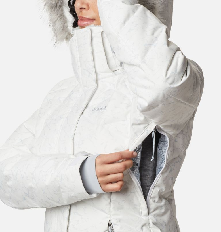 Lay D Down™ II Jacket | 102 | XL Women's Lay D Down™ II Jacket, White, Cirrus Grey Crackle Print, a5