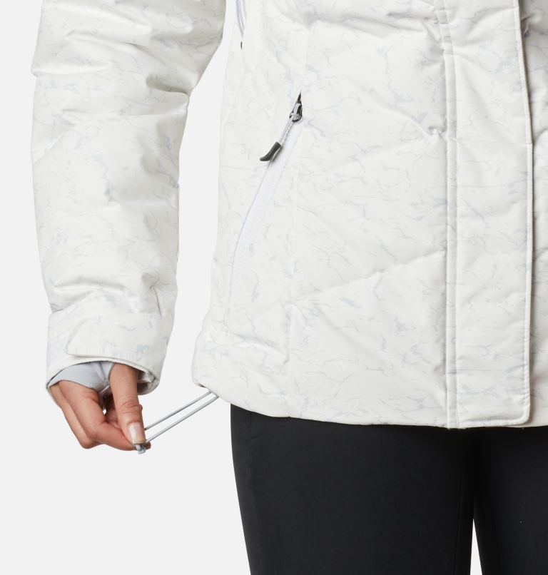 Lay D Down™ II Jacket | 102 | XXL Women's Lay D Down™ II Jacket, White, Cirrus Grey Crackle Print, a6