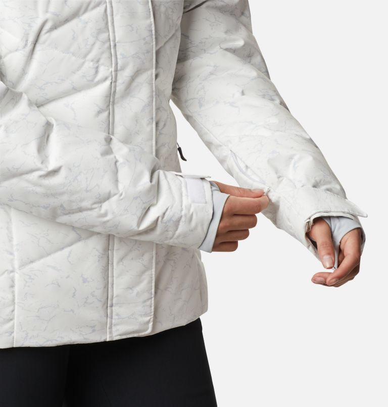 Lay D Down™ II Jacket | 102 | XXL Women's Lay D Down™ II Jacket, White, Cirrus Grey Crackle Print, a7