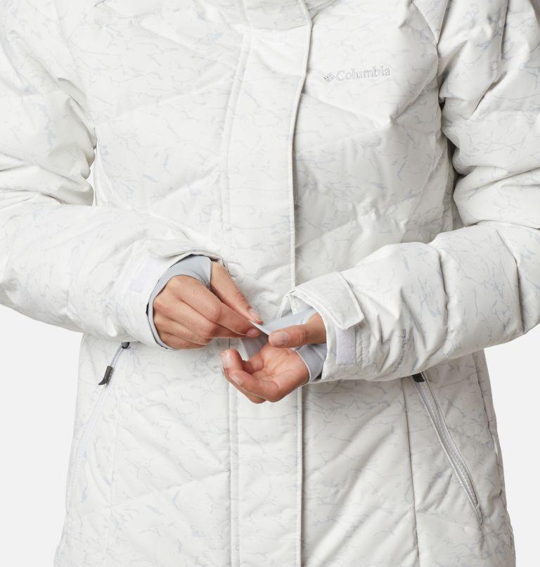 Lay D Down™ II Jacket | 102 | XL Women's Lay D Down™ II Jacket, White, Cirrus Grey Crackle Print, a8