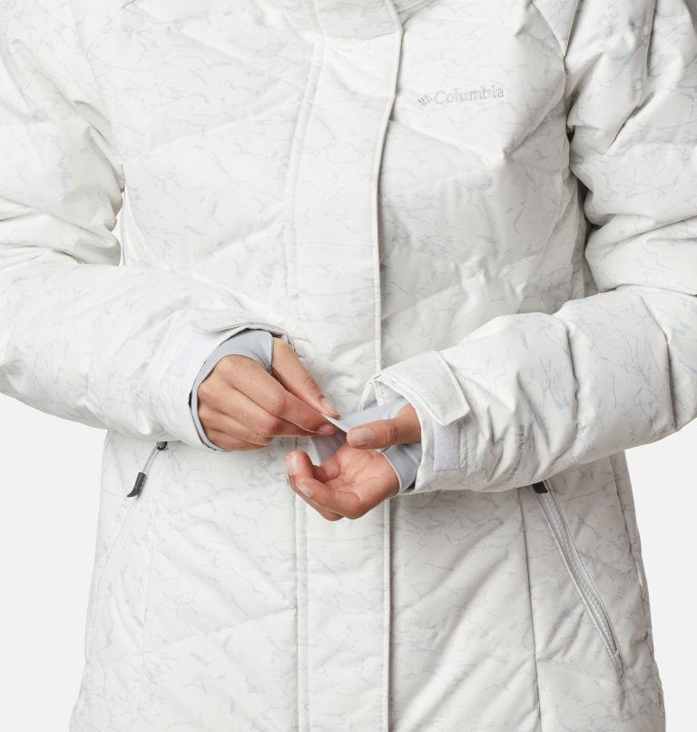 Lay D Down™ II Jacket | 102 | XXL Women's Lay D Down™ II Jacket, White, Cirrus Grey Crackle Print, a8