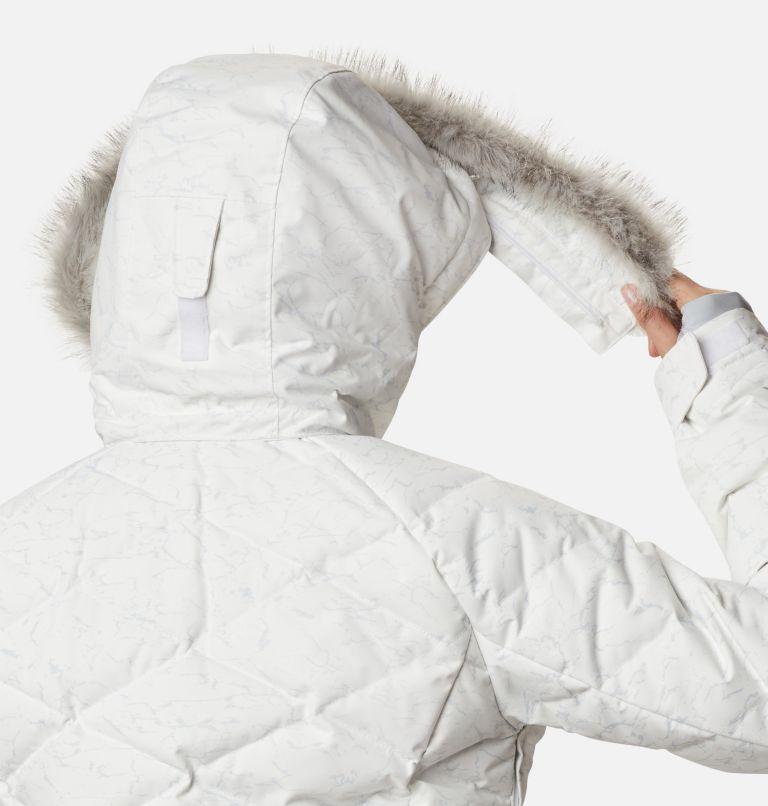 Lay D Down™ II Jacket | 102 | XL Women's Lay D Down™ II Jacket, White, Cirrus Grey Crackle Print, a9