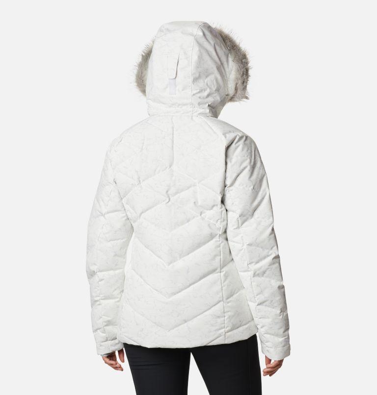 Lay D Down™ II Jacket | 102 | XL Women's Lay D Down™ II Jacket, White, Cirrus Grey Crackle Print, back