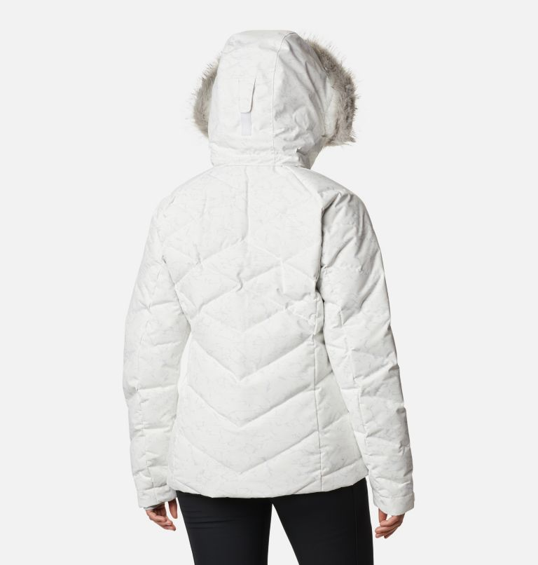 Lay D Down™ II Jacket | 102 | XXL Women's Lay D Down™ II Jacket, White, Cirrus Grey Crackle Print, back