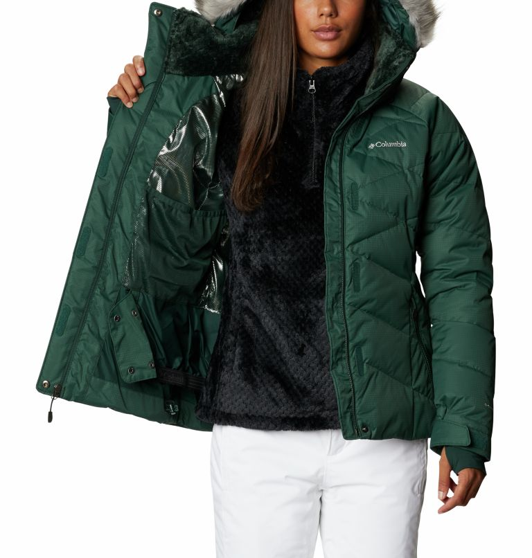 Lay D Down™ II Jacket | 370 | S Women's Lay D Down™ II Ski Jacket, Spruce, a3