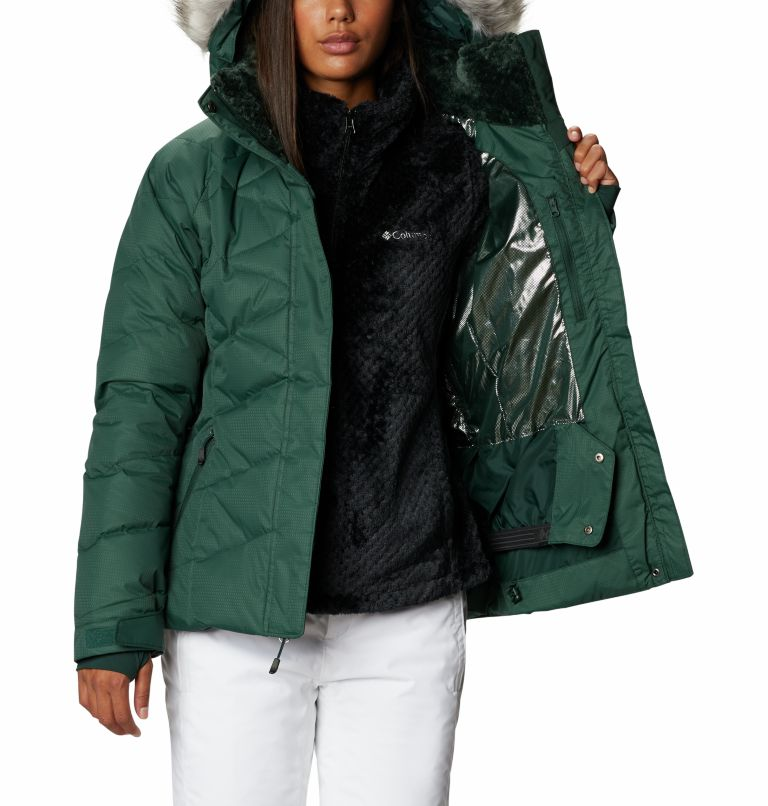 Lay D Down™ II Jacket | 370 | S Women's Lay D Down™ II Ski Jacket, Spruce, a4