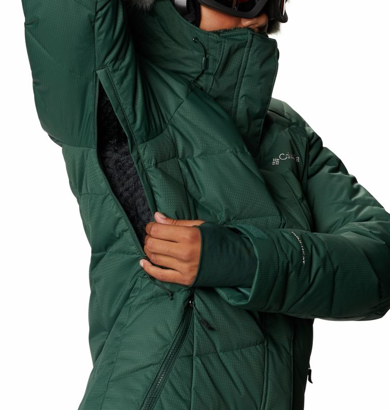 Lay D Down™ II Jacket | 370 | S Women's Lay D Down™ II Ski Jacket, Spruce, a9