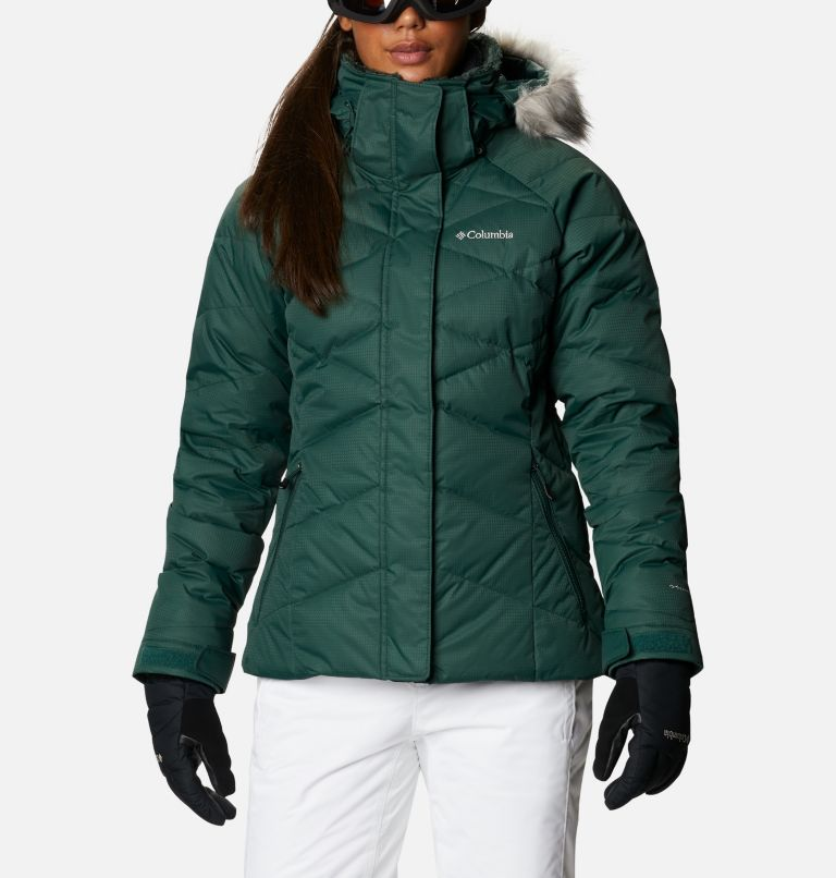 Lay D Down™ II Jacket | 370 | S Women's Lay D Down™ II Ski Jacket, Spruce, front