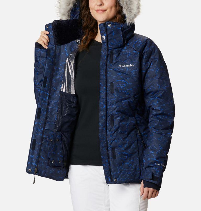 Lay D Down™ II Jacket | 467 | L Women's Lay D Down™ II Jacket, Dark Nocturnal, Lapis Blue Crackle Print, a4