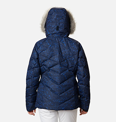Women's Lay D Down™ II Jacket Lay D Down™ II Jacket | 102 | L, Dark Nocturnal, Lapis Blue Crackle Print, back