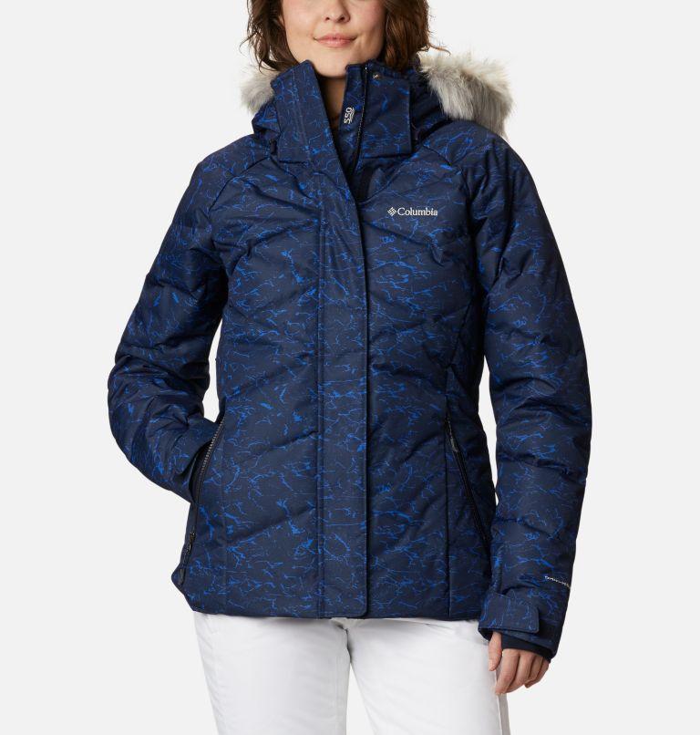 Lay D Down™ II Jacket | 467 | L Women's Lay D Down™ II Jacket, Dark Nocturnal, Lapis Blue Crackle Print, front