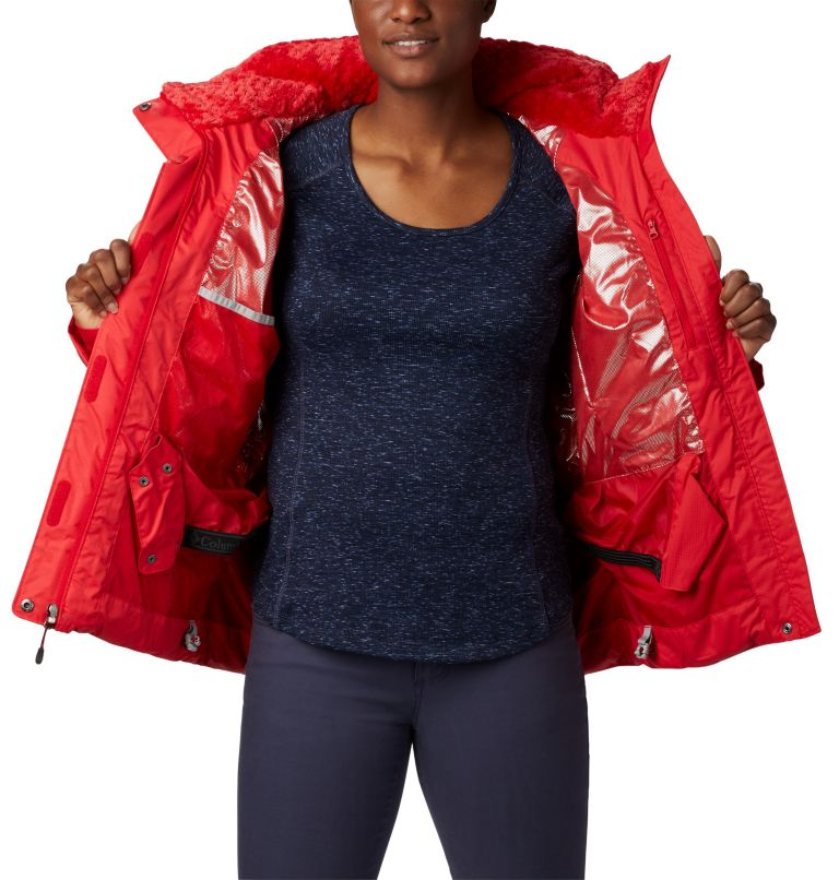 Lay D Down™ II Jacket | 658 | XL Veste Lay D Down™ II Femme, Red Lily, a1
