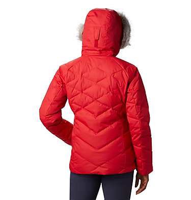 Lay D Down™ II Skijacke für Damen Lay D Down™ II Jacket | 011 | XS, Red Lily, back
