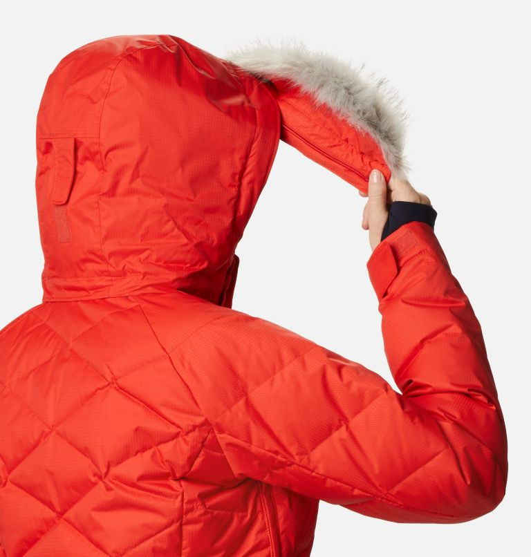 Lay D Down™ II Jacket | 843 | L Women's Lay D Down™ II Ski Jacket, Bold Orange Dobby, a10