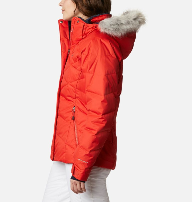Lay D Down™ II Jacket | 843 | L Women's Lay D Down™ II Ski Jacket, Bold Orange Dobby, a1