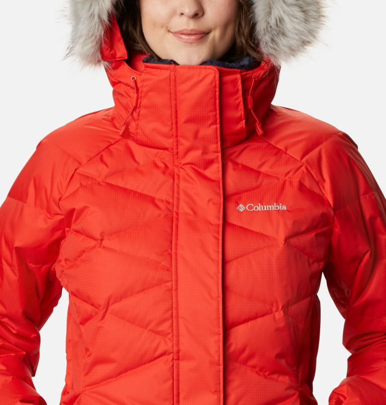 Lay D Down™ II Jacket | 843 | L Women's Lay D Down™ II Ski Jacket, Bold Orange Dobby, a2