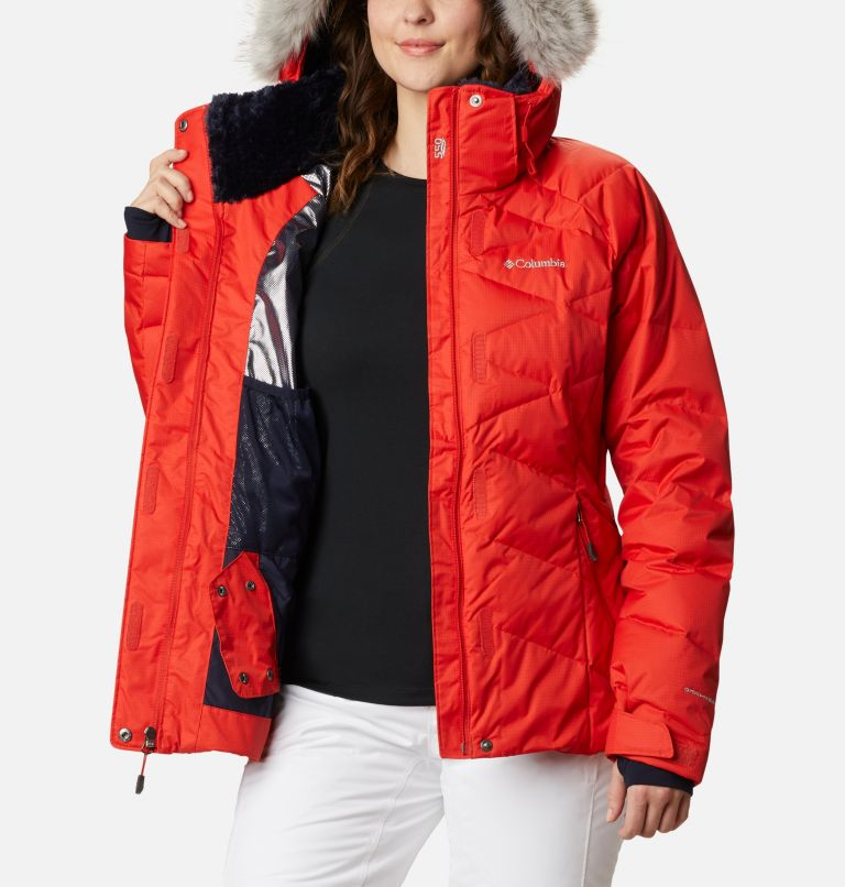 Lay D Down™ II Jacket | 843 | L Women's Lay D Down™ II Ski Jacket, Bold Orange Dobby, a4