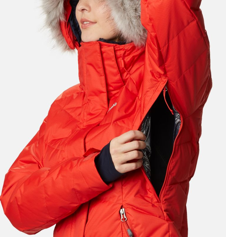 Lay D Down™ II Jacket | 843 | L Women's Lay D Down™ II Ski Jacket, Bold Orange Dobby, a5