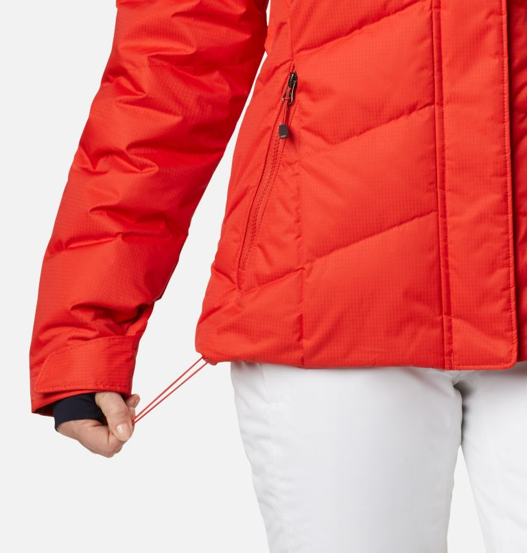 Lay D Down™ II Jacket | 843 | L Women's Lay D Down™ II Ski Jacket, Bold Orange Dobby, a6