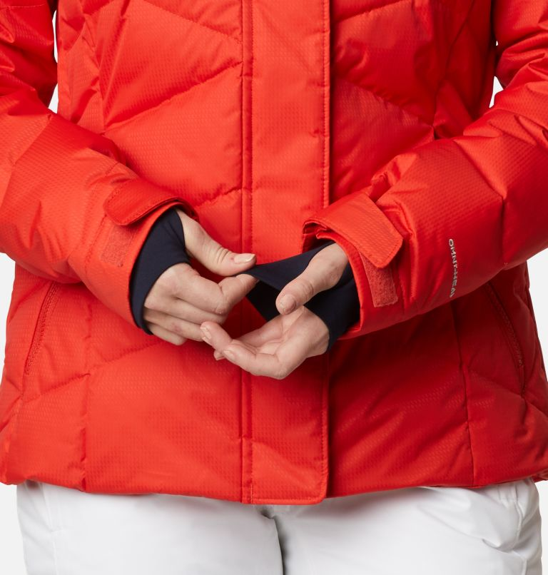 Lay D Down™ II Jacket | 843 | L Women's Lay D Down™ II Ski Jacket, Bold Orange Dobby, a8