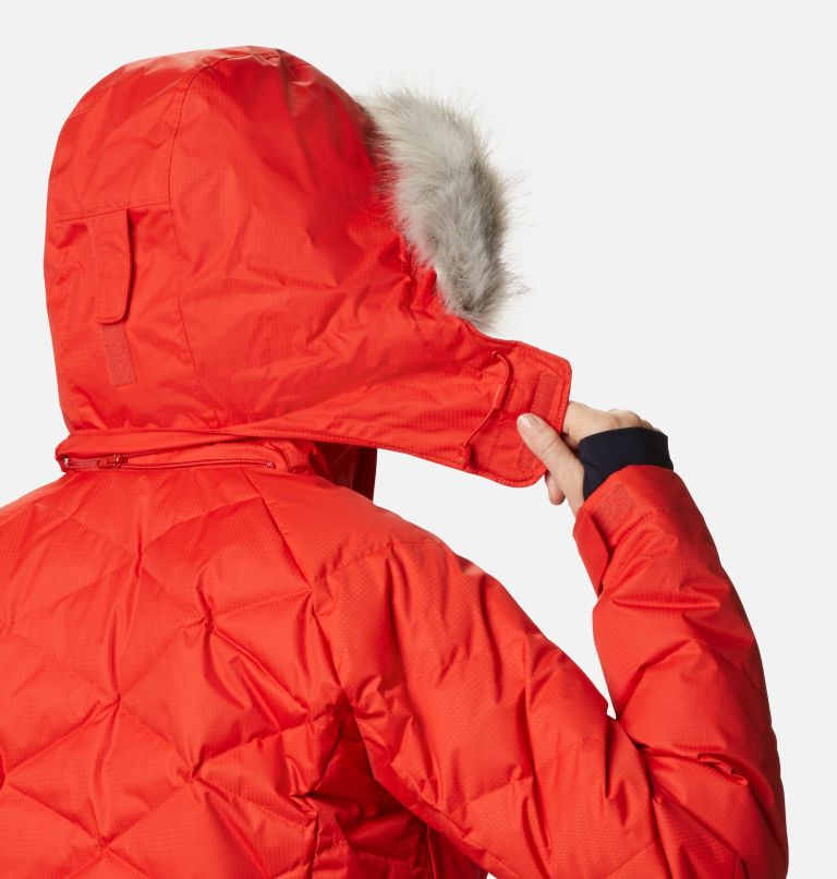 Lay D Down™ II Jacket | 843 | L Women's Lay D Down™ II Ski Jacket, Bold Orange Dobby, a9