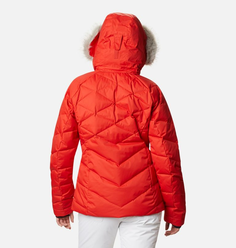 Lay D Down™ II Jacket | 843 | L Women's Lay D Down™ II Ski Jacket, Bold Orange Dobby, back