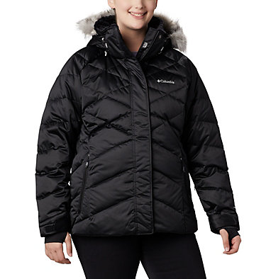 Women's Lay D Down™ II Jacket - Plus Size Lay D Down™ II Jacket | 843 | 1X, Black, front