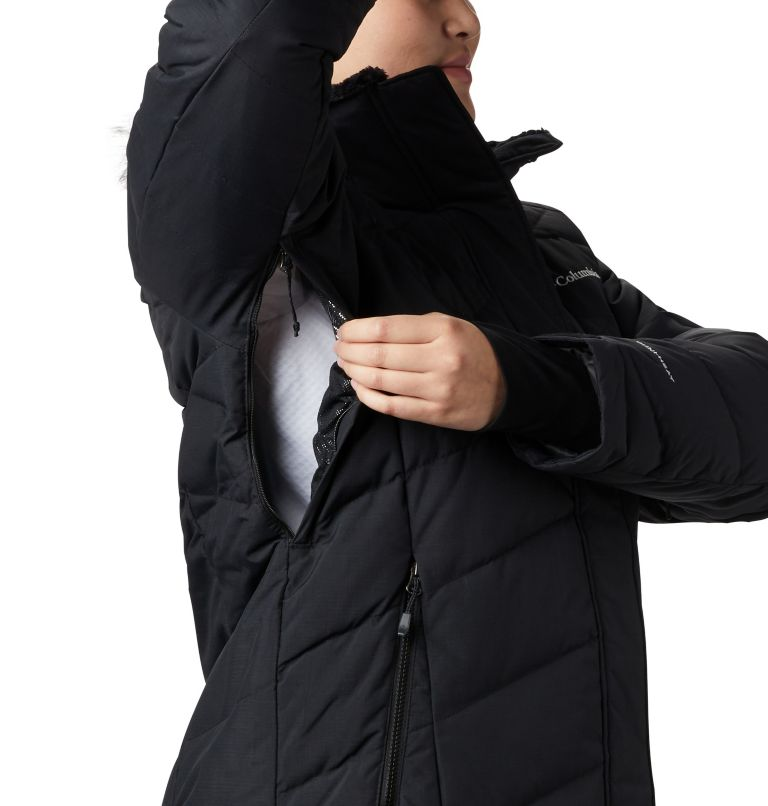 Lay D Down™ II Jacket | 013 | 1X Women's Lay D Down™ II Jacket - Plus Size, Black Metallic, a7