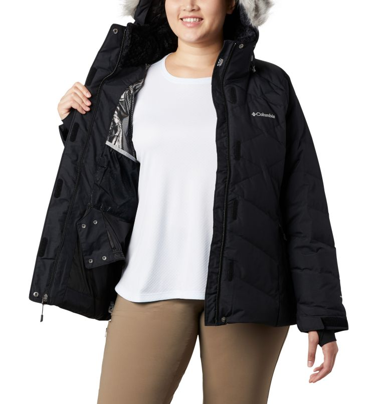 Lay D Down™ II Jacket | 013 | 3X Women's Lay D Down™ II Jacket - Plus Size, Black Metallic, a8