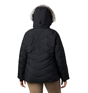 Women's Lay D Down™ II Jacket - Plus Size Lay D Down™ II Jacket | 843 | 1X, Black Metallic, back