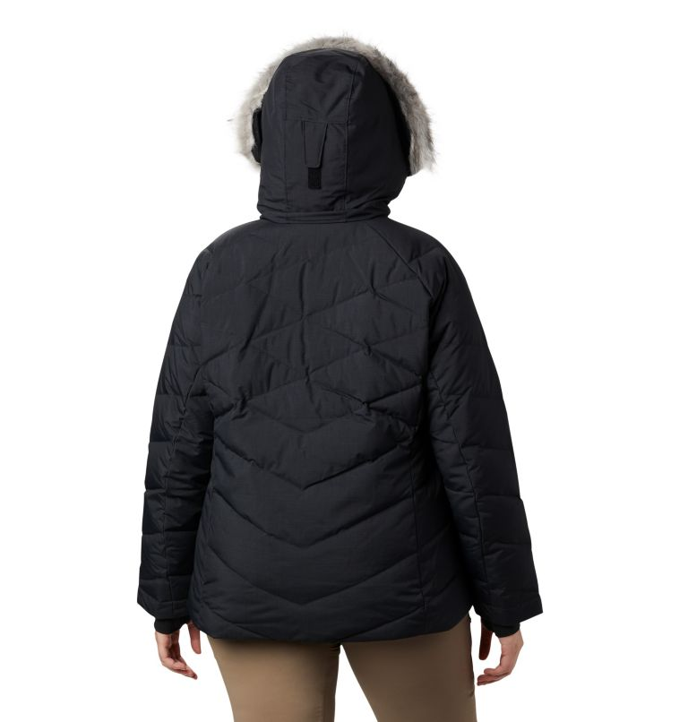 Lay D Down™ II Jacket | 013 | 3X Women's Lay D Down™ II Jacket - Plus Size, Black Metallic, back