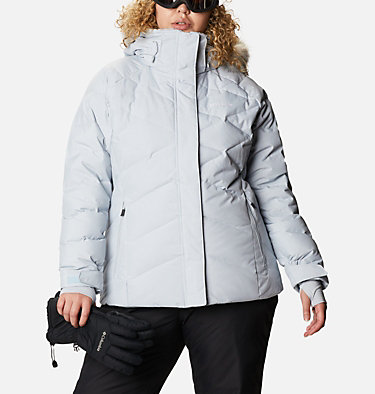 Women's Lay D Down™ II Jacket - Plus Size Lay D Down™ II Jacket | 843 | 1X, Cirrus Grey Metallic, front