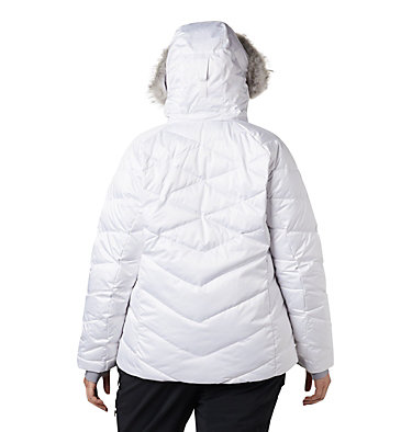 Women's Lay D Down™ II Jacket - Plus Size Lay D Down™ II Jacket | 843 | 1X, White, back