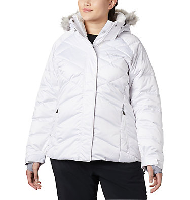 Women's Lay D Down™ II Jacket - Plus Size Lay D Down™ II Jacket | 843 | 1X, White, front