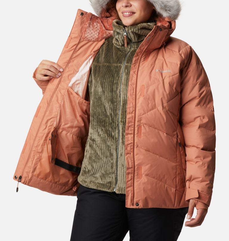 Lay D Down™ II Jacket | 604 | 2X Women's Lay D Down™ II Jacket - Plus Size, Nova Pink Dobby, a3