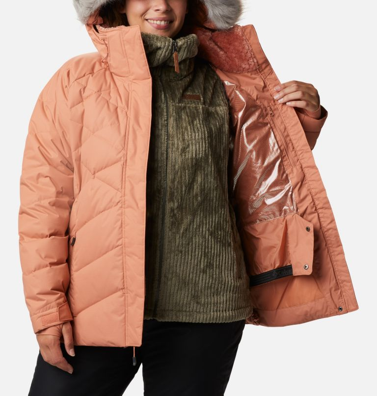 Lay D Down™ II Jacket | 604 | 2X Women's Lay D Down™ II Jacket - Plus Size, Nova Pink Dobby, a4